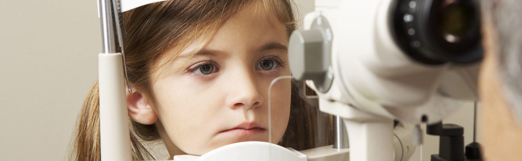 Optometrisch oogonderzoek kind